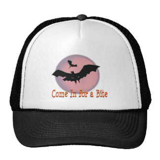Halloween Bats Come In for a Bite Trucker Hat