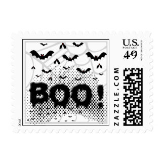 Halloween bats from Hell Postage Stamps