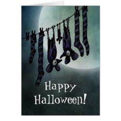Halloween Bats Greeting Cards