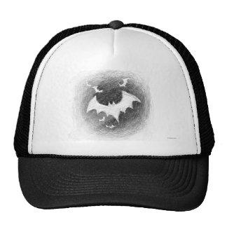 Halloween Bats Hat Black