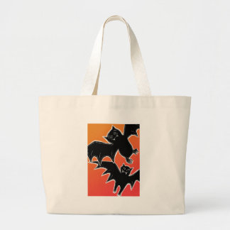 Halloween Bats Jumbo Tote Bag