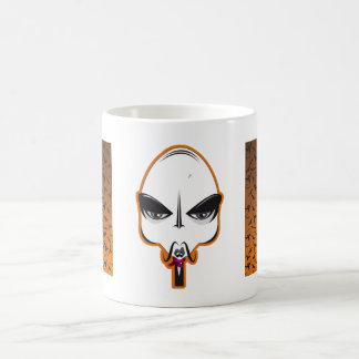 HALLOWEEN BATS PATTERN CLASSIC WHITE COFFEE MUG