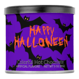 Halloween Bats Personalized Powdered Drink Mix