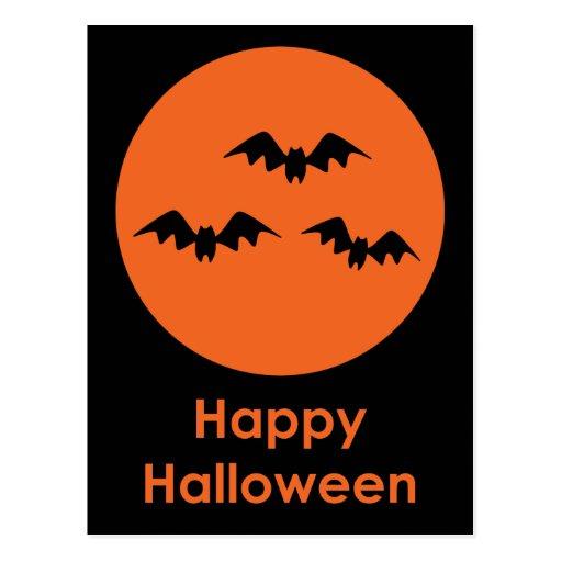 Halloween Bats Post Cards