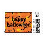Halloween Bats Stamp