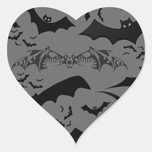 Halloween Bats Sticker
