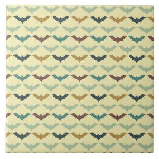 Halloween Bats Tile