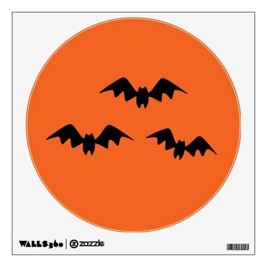 Halloween Bats Wall Decal
