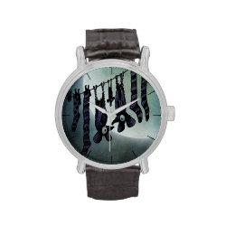 Halloween Bats Wristwatch