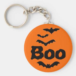"Halloween Batty ""Boo"" Keychain"