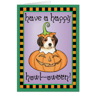 Halloween Beagle Card
