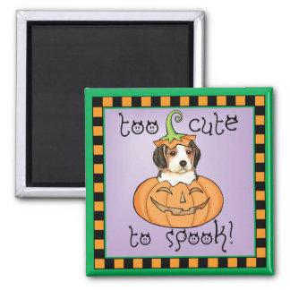 Halloween Beagle Magnet