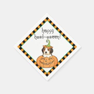 Halloween Beagle Paper Napkin