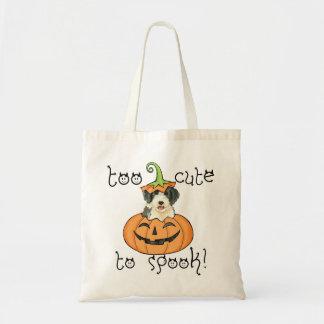 Halloween Beardie Tote Bag