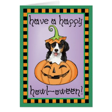 Halloween Themed Halloween Berner Card