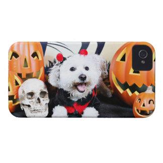 Halloween - Bichon Frise - Andi Case-Mate iPhone 4 Cases