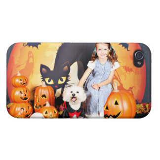 Halloween - Bichon Frise - Andi Cases For iPhone 4