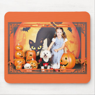 Halloween - Bichon Frise - Andi Mouse Pad