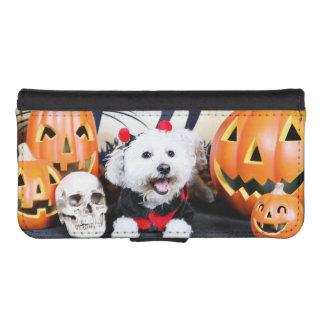 Halloween - Bichon Frise - Andi Phone Wallet Case