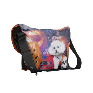 Halloween - Bichon Frise - Mia Commuter Bag