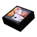 Halloween - Bichon Frise - Mia Keepsake Box