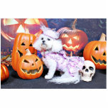 Halloween - Bichon Frise - Mia Photo Cut Out