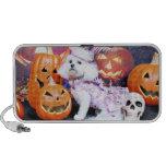 Halloween - Bichon Frise - Mia Portable Speaker