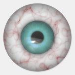 Halloween Big Eye Ball Classic Round Sticker