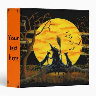 Halloween Binder for photos,recipes,spells etc.