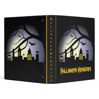 Halloween Binders binder