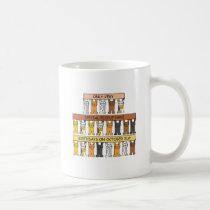 Halloween Birthday Cats Coffee Mug