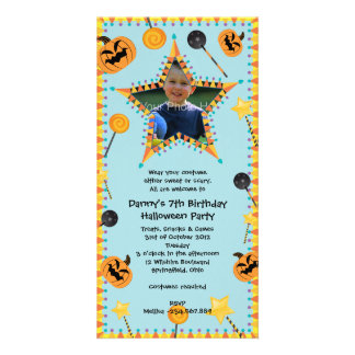 Halloween Birthday Costtume Party Invitation