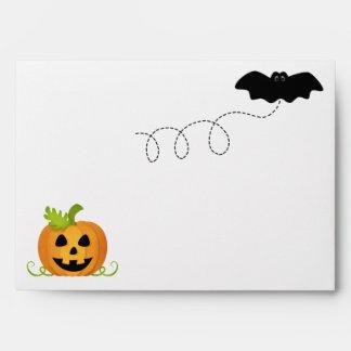 Halloween Birthday Envelopes