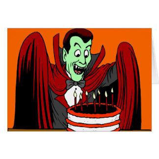 Halloween Birthday Greetings Greeting Card