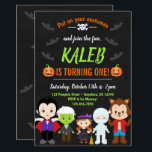 "Halloween Birthday Invitation Kids<br><div class=""desc"">Halloween Birthday Invitation for your child"