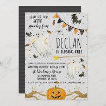 Halloween Birthday Invitation Spooky