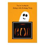Halloween Birthday Party Invitation Personalized Invitations