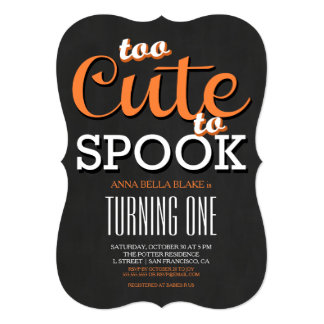 Halloween Birthday Invitations | Zazzle