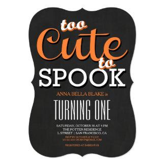 Halloween Birthday Party Invitation