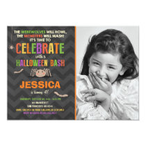 Halloween Birthday Party Invitation Costume party
