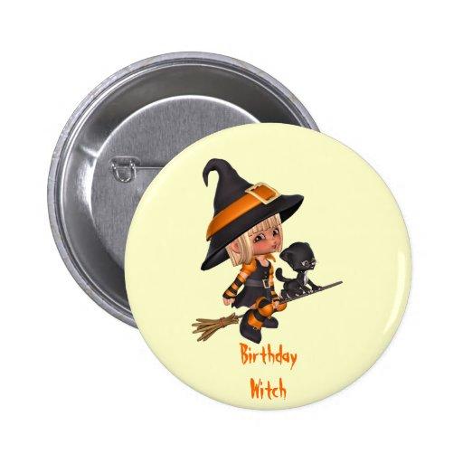 Halloween Birthday Pin