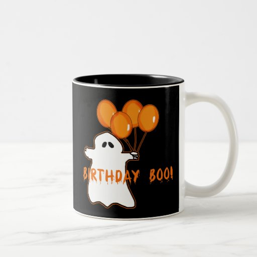 Halloween Birthday T-shirts and Gifts Two-Tone Coffee Mug