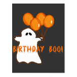 Halloween Birthday T-shirts and Gifts Postcards