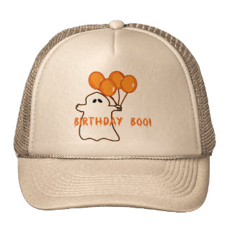 Halloween Birthday T-shirts and Gifts Trucker Hats