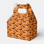 Halloween Black Bats Gift Box Party Favor Boxes