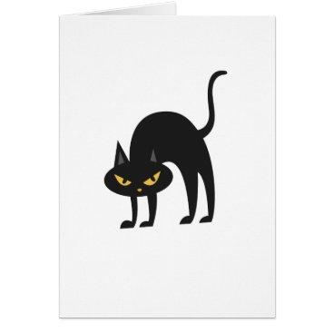 Halloween Themed Halloween Black Cat 2017 Gift Card