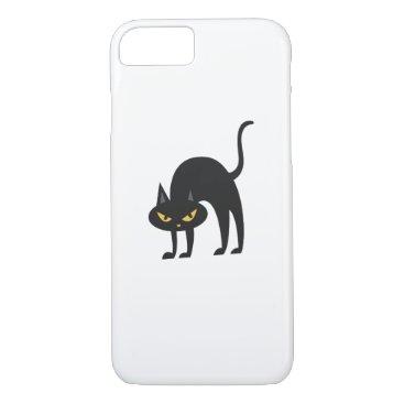 Halloween Themed Halloween Black Cat 2017 Gift iPhone 8/7 Case