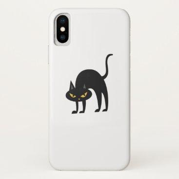 Halloween Themed Halloween Black Cat 2017 Gift iPhone X Case