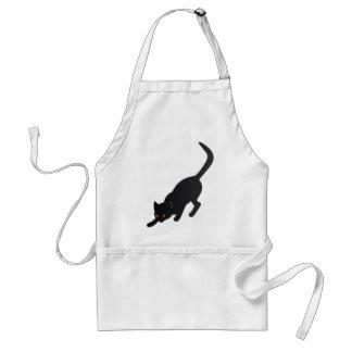 Halloween Black Cat Apron