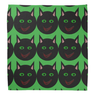 Halloween Black Cat Bandana